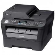 Multifunctionala Laser Monocrom Brother MFC-7460DN, Duplex, A4, 26 ppm, 2400 x 600, Fax, Copiator, Scanner, Retea