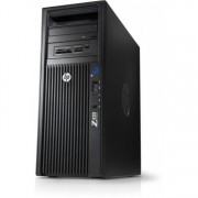 Workstation HP Z420, CPU Intel Xeon E5-1603 2.80GHz Quad Core, 16GB DDR3 ECC, 256GB SDD, nVidia GT610/1GB DDR3, DVD-RW