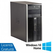 Calculator HP 6200 Tower, Intel Core i3-2100 3.10GHz, 8GB DDR3, 500GB SATA, DVD-ROM + Windows 10 Home (Top Sale!)