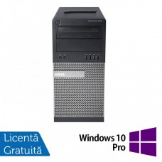 Calculator Dell OptiPlex 7010 Tower, Intel Core i5-3450 3.10GHz, 4GB DDR3, 500GB SATA, DVD-RW + Windows 10 Pro