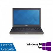 Laptop Dell Precision M4800, Intel Core i7-4810MQ 2.80GHz, 8GB DDR3, 240GB SSD, Tastatura Numerica, 15.6 Inch + Windows 10 Pro