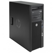 Workstation HP Z420, CPU Intel Xeon E5-1603 2.80GHz Quad Core, 16GB DDR3 ECC, 240GB SDD, Placa video Gaming AMD Radeon R7 350 4GB GDDR5 128-Bit, DVD-RW