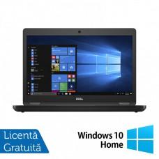 Laptop DELL Latitude 5480, Intel Core i5-6300U 2.40GHz, 8GB DDR4, 256GB SSD, 14 Inch + Windows 10 Home