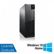 Calculator Lenovo M81 SFF, Intel Core i5-2400 3.10GHz, 8GB DDR3, 120GB SSD, DVD-RW + Windows 10 Home