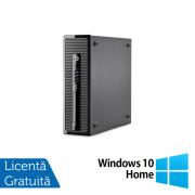 Calculator HP 400 G1 SFF, Intel Core i7-4770 3.40GHz, 8GB DDR3, 120GB SSD, DVD-RW + Windows 10 Home