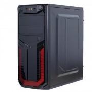 Sistem PC, Intel Core i3-4160 3.60GHz, 8GB DDR3, 240GB SSD + 2TB SATA, Radeon RX580 8GB, DVD-RW, CADOU Tastatura + Mouse