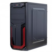 Sistem PC Gaming, Intel Core i5-2400 3.10GHz, 8GB DDR3, 3TB SATA, Placa video RX 470 8GB GDDR5, DVD-RW, CADOU Tastatura + Mouse