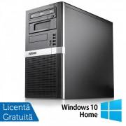 Calculator Exone PC Tower, Intel Core i3-6100 3.70GHz, 4GB DDR4, 500GB SATA, DVD-ROM + Windows 10 Home