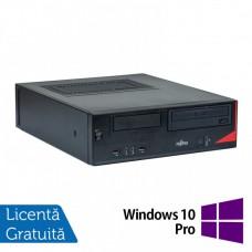 Calculator Fujitsu E520, Intel Core i5-4570s 2.90GHz, 4GB DDR3, 500GB SATA, DVD-ROM + Windows 10 Pro