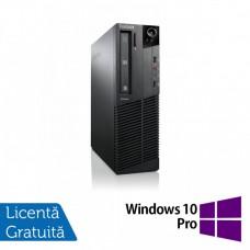 Calculator Lenovo ThinkCentre M92p SFF, Intel Core i7-3770 3.40GHz, 4GB DDR3, 500GB SATA, DVD-ROM + Windows 10 Pro
