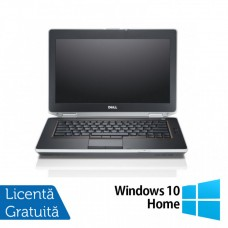 Laptop DELL Latitude E6420, Intel Core i7-2640M 2.50GHz, 4GB DDR3, 320GB SATA, DVD-RW, 14 Inch + Windows 10 Home