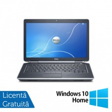 Laptop DELL Latitude E6430, Intel Core i7-3520QM 2.90GHz, 4GB DDR3, 320GB SATA, DVD-RW, 14 Inch + Windows 10 Home