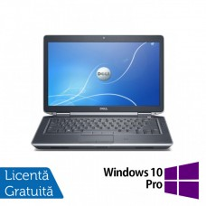 Laptop DELL Latitude E6430, Intel Core i7-3720QM 2.60GHz, 4GB DDR3, 320GB SATA, DVD-RW, 14 Inch + Windows 10 Pro