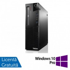 Calculator Lenovo Thinkcentre M93p SFF, Intel Core i3-4130 3.40GHz, 8GB DDR3, 120GB SSD, DVD-RW + Windows 10 Pro