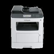 Multifunctionala Laser Monocrom LEXMARK MX410de, Duplex, A4, 38ppm, 1200 x 1200dpi, Retea, USB