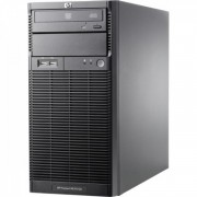 Server HP ProLiant ML110 G6 Tower, Intel Xeon Quad Core X3430 2.40GHz, 8GB DDR3, 1 TB SATA, DVD-ROM, PSU 300W