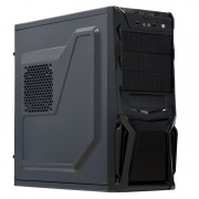 Sistem PC, Intel Core i3-4160 3.60GHz, 8GB DDR3, 500GB SATA, GeForce GT710 2GB, DVD-RW, CADOU Tastatura + Mouse