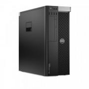 Workstation DELL Precision T3610 Intel Xeon Quad Core E5-1620 V2 3.70-3.90GHz, 48GB DDR3 ECC, 240GB SSD + 2TB HDD SATA, DVD-ROM + NVIDIA QUADRO K2200/4GB