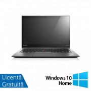 Laptop Lenovo ThinkPad X1 CARBON, Intel Core i7-3667U 2.00GHz, 8GB DDR3, 120GB SSD, 14 Inch + Windows 10 Home