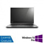 Laptop Lenovo ThinkPad X1 CARBON, Intel Core i5-3427U 1.80GHz, 8GB DDR3, 240GB SSD, 14 Inch + Windows 10 Pro