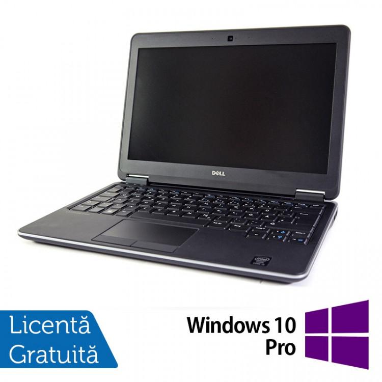 Laptop DELL Latitude E7240, Intel Core i5-4300U 1.90GHz, 8GB DDR3, 120GB SSD, 12.5 Inch, Webcam + Windows 10 Pro