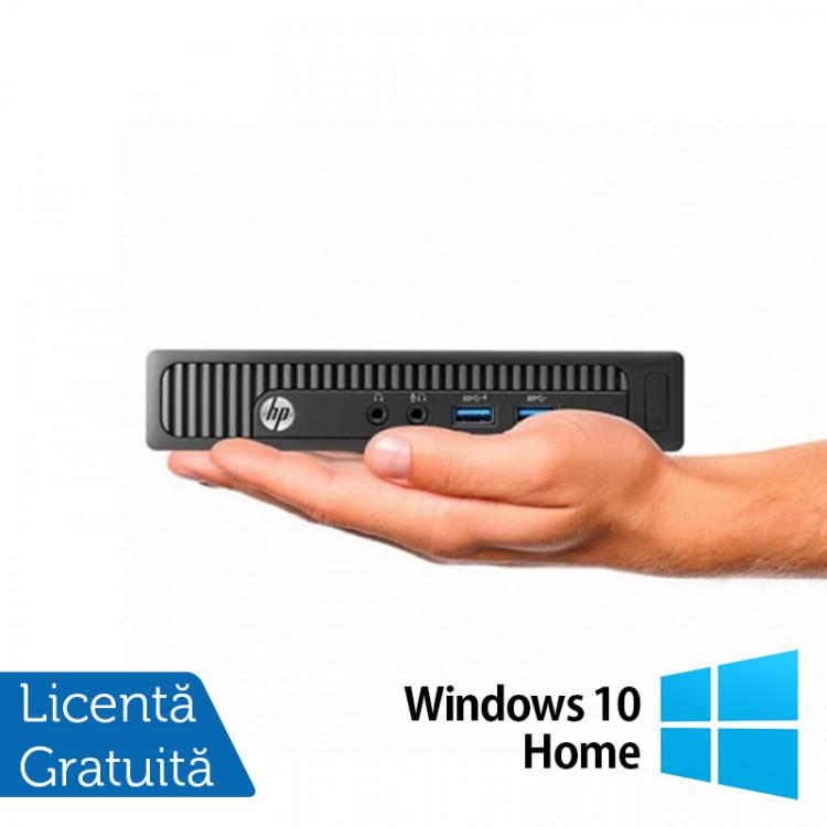 Calculator HP MP9 9000 Mini PC, Intel Core i5-4570T 2.90GHz, 8GB DDR3, 240GB SSD + Windows 10 Home