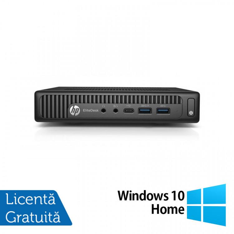 Calculator HP Prodesk 600 G2 Mini PC, Intel Core i5-6500T 2.50GHz, 4GB DDR3, 120GB SSD + Windows 10 Home